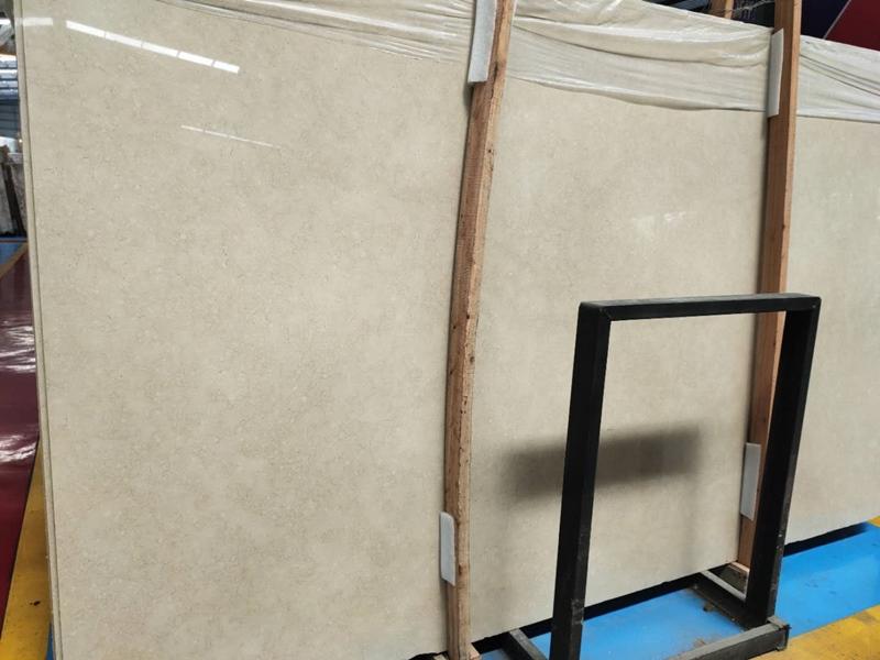 New Crema Marfil Marble Slabs Beige Marble
