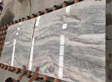 New Dark Vemont Gray Stone Marble