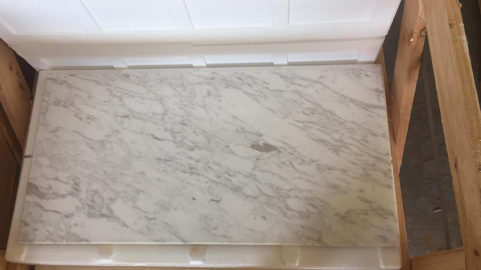 new LAC white marble tile 3