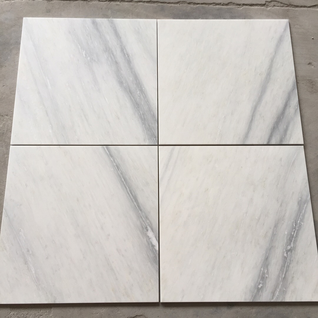 Pacific White Marble Tiles