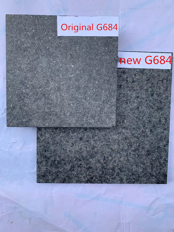 New G684 black basalt