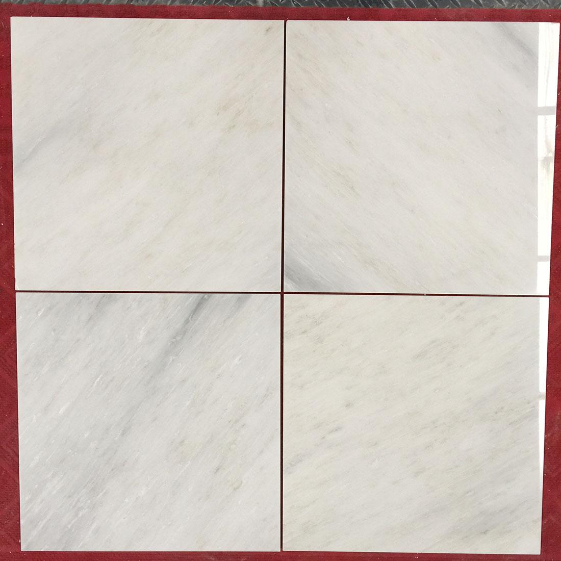 New Oriental White Villa Decoration Stone Marble Flooring Tile