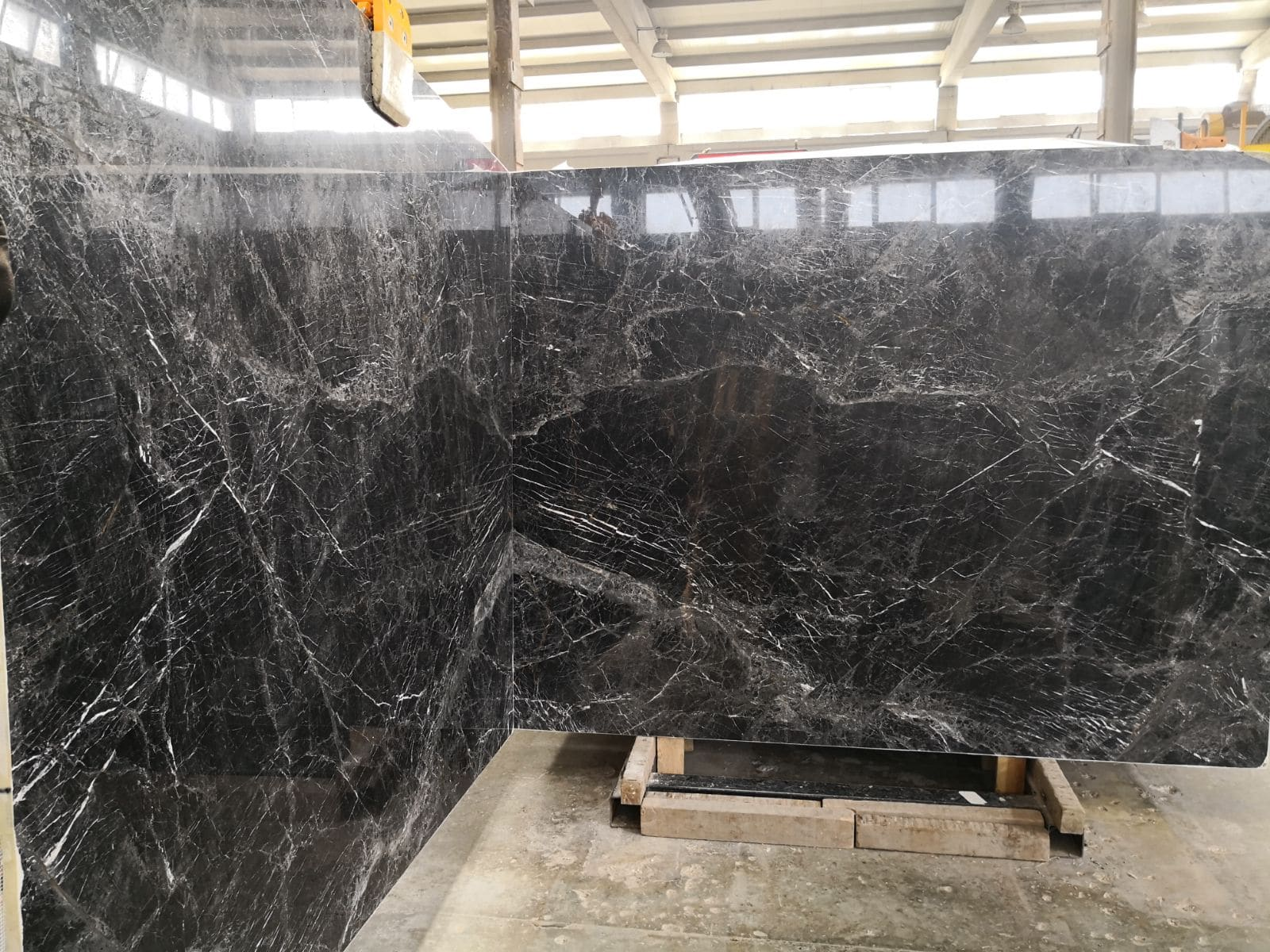 Night Bros Grey Polished Marble Slabs