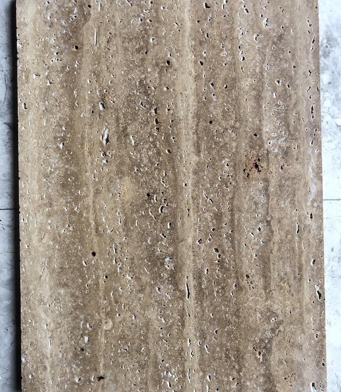 Dark Travertine Floor Tiles