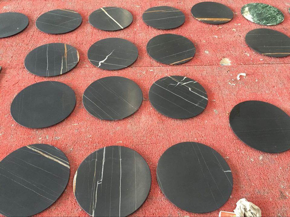 noir azizia black marble