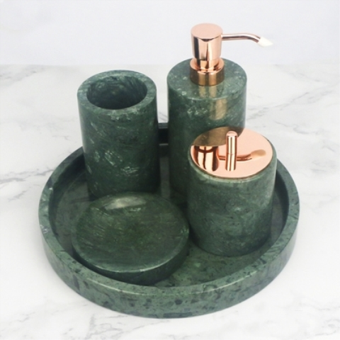 India Green Bathroom Set