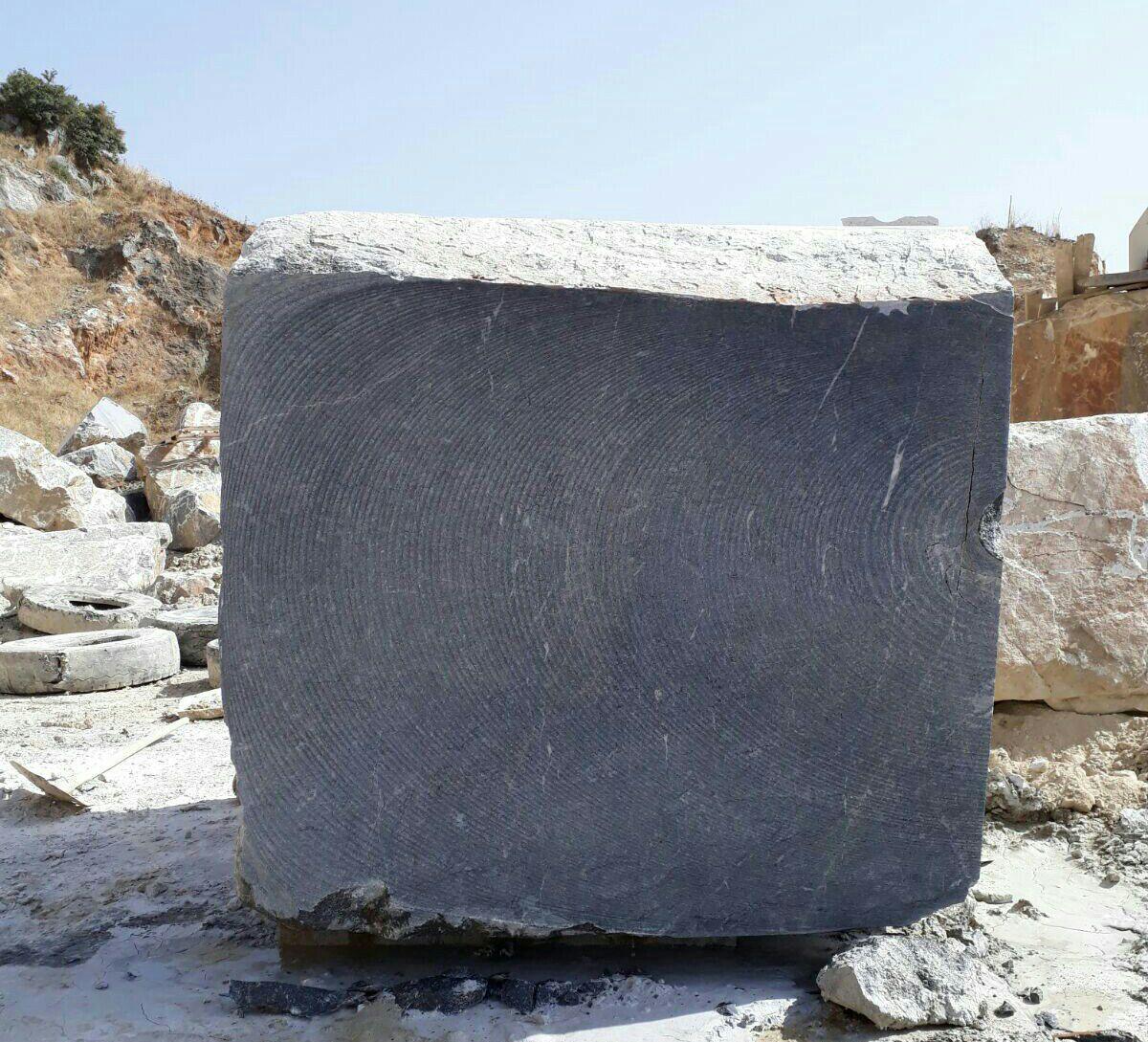 Ocean Blue Marble Block