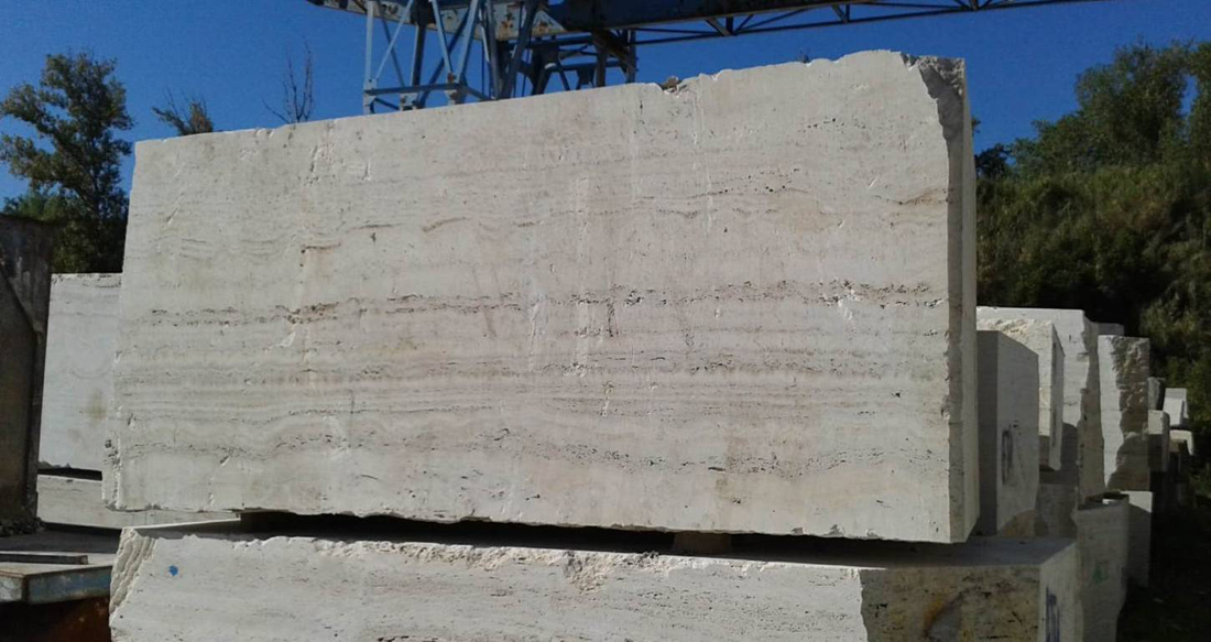 Travertino Onda Marina Travertine Natural Blocks