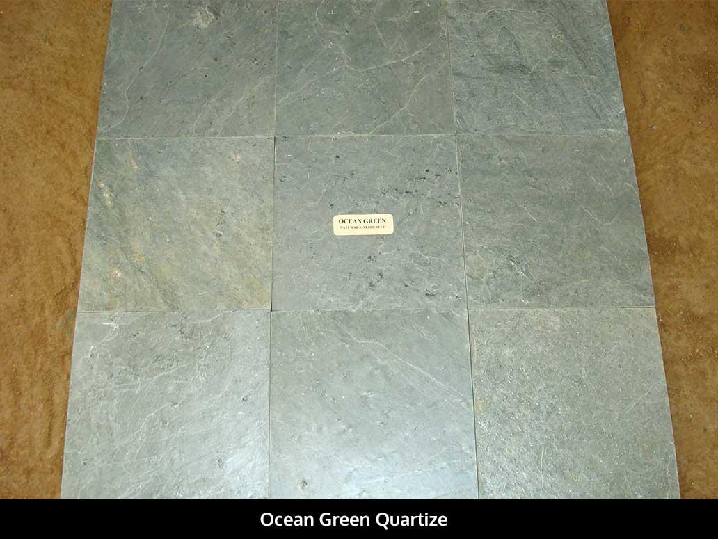 Ocean Green Quartize