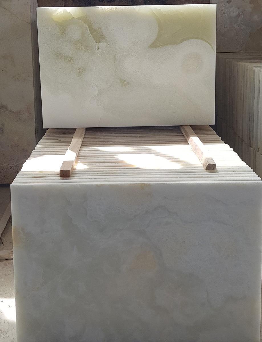 White Onyx Tile