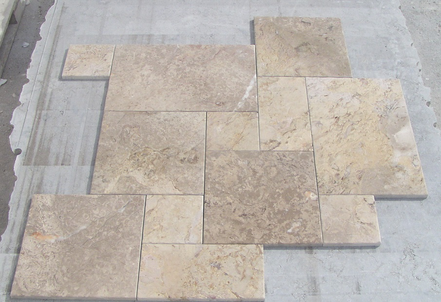 Natural Stone Opus Romano pattern