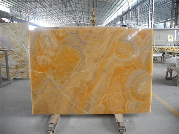 Orange Onyx For Indoor Decoration