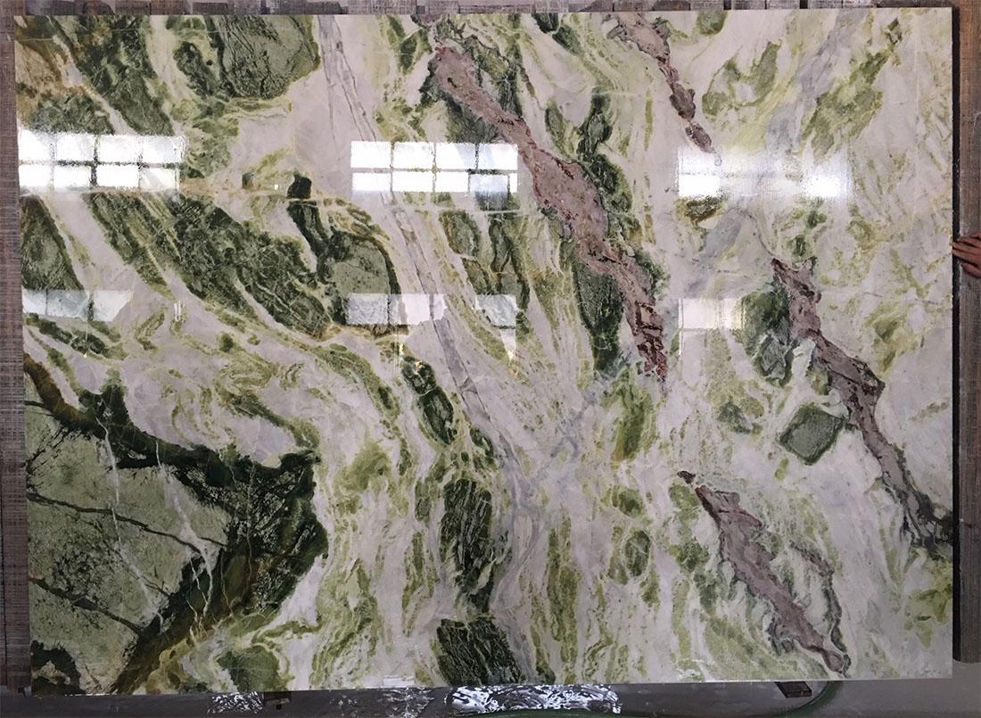 Oriental Beauty Onyx Polished Green Onyx Slabs