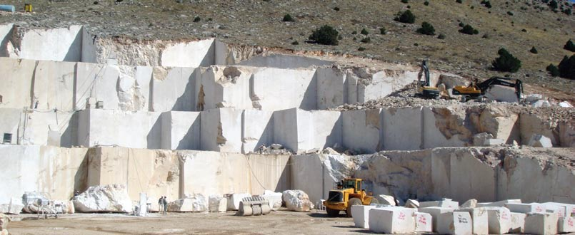 Oriental Grey Marble Blocks Turkey