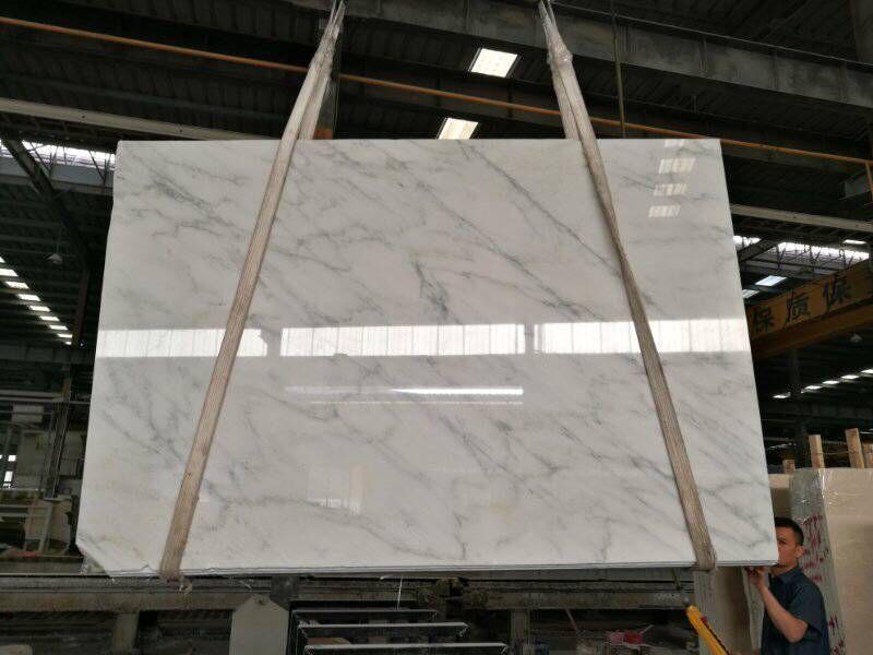 Oriental White Marble Slabs