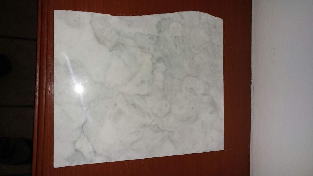 Orient white marble slab