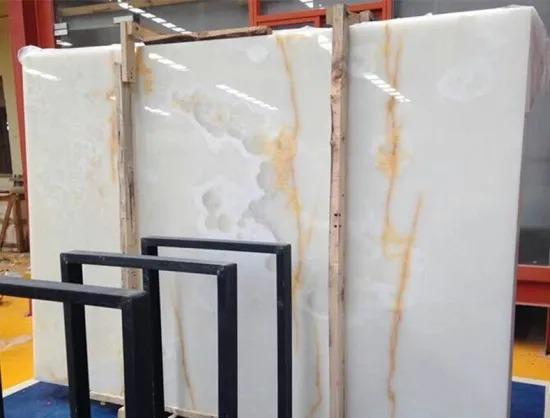 China Oscar Onyx Marble Slab For Wall