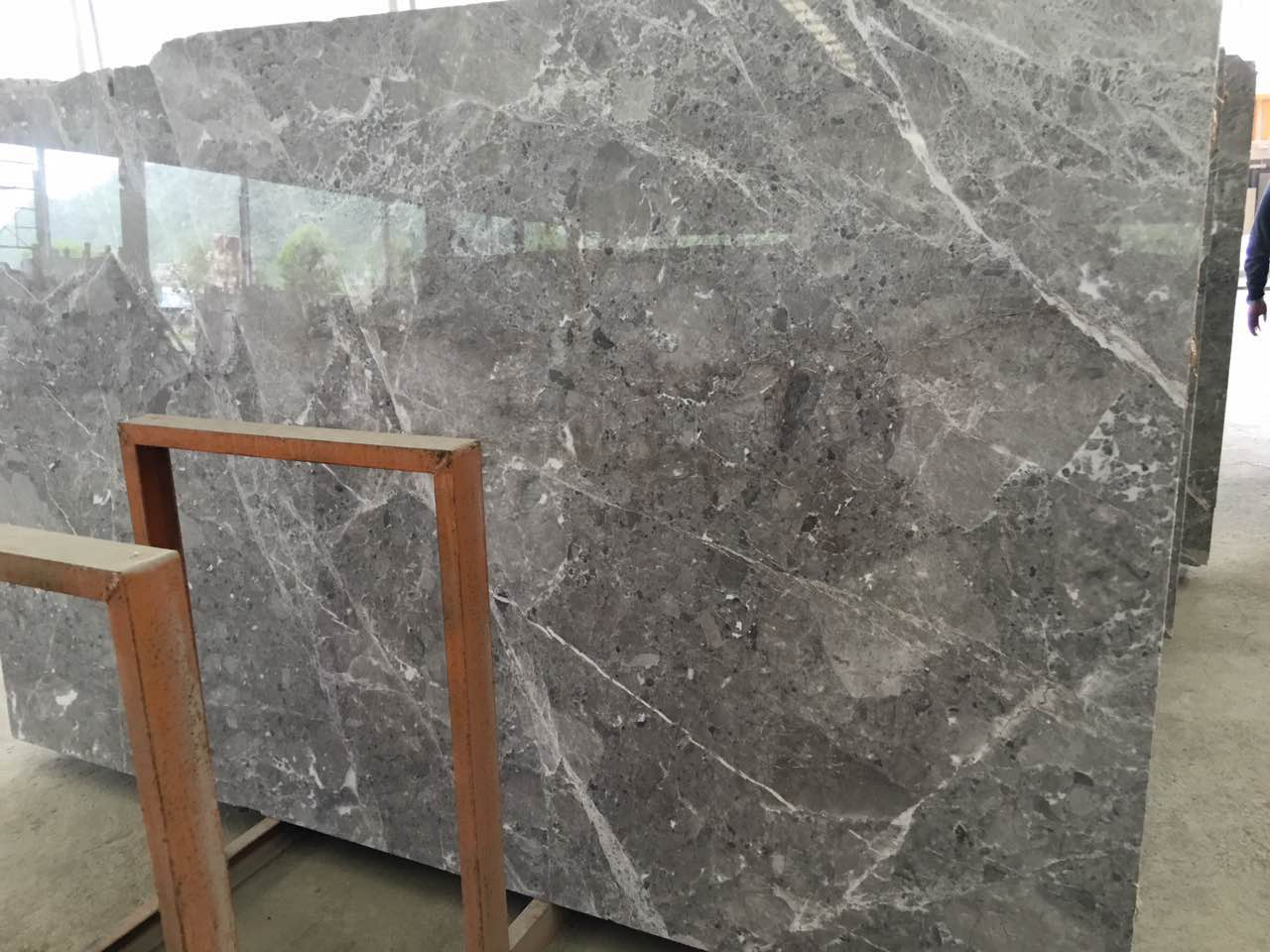 Oscar Grey Athena Grey Marble Slabs