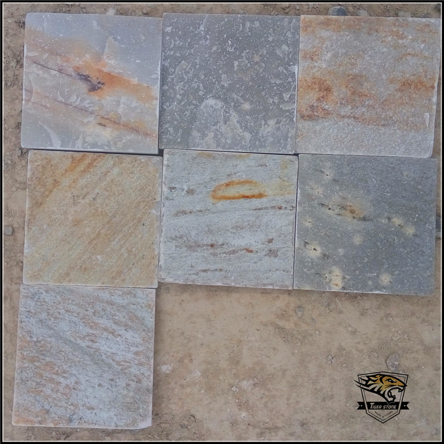 P014 in pcs Slate Wall and Floor Tiles