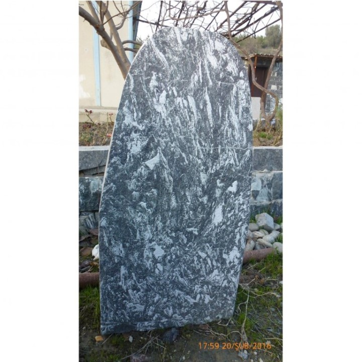 Cut and Bushhammered Tombstone