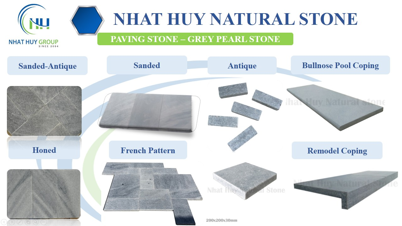 GREY PEARL PAVING STONE