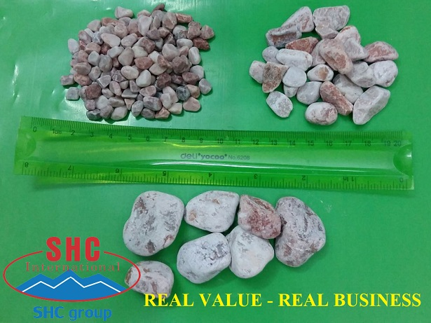 Pink pebbles