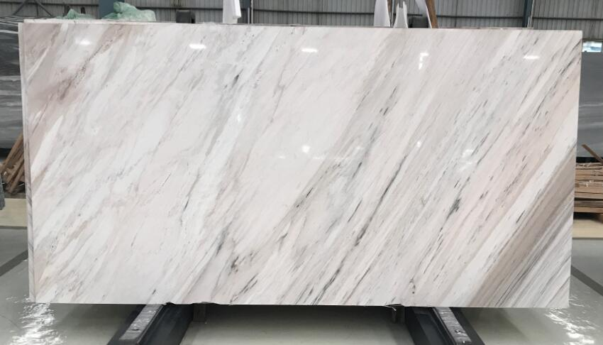 Palissandro Classico White Polished Marble Slabs