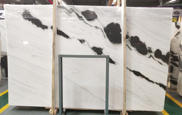 3cm slabs of Chinese Panda White Marble