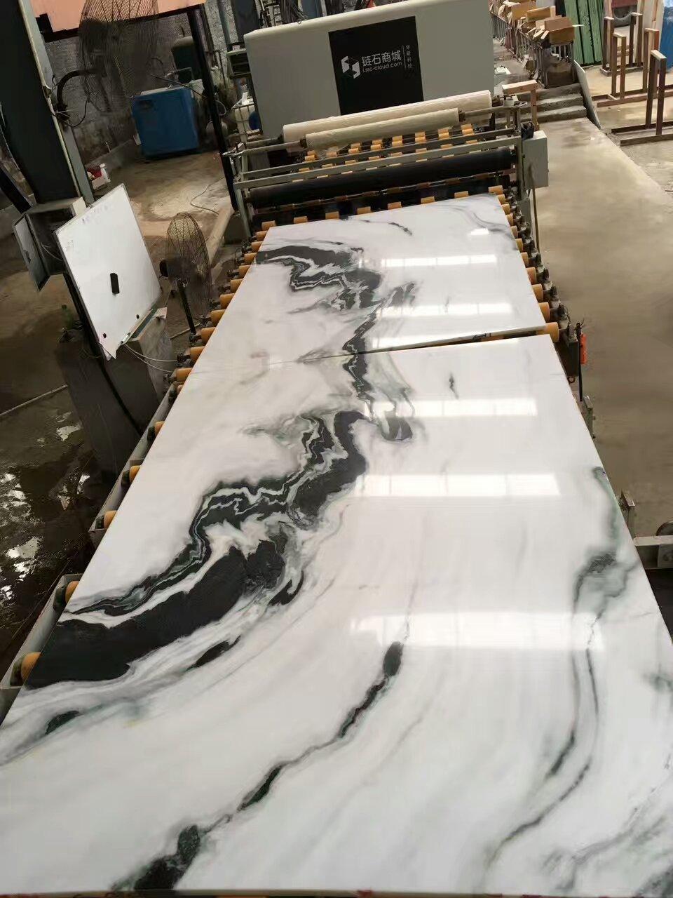 Panda White Marble Big Slabs Tiles