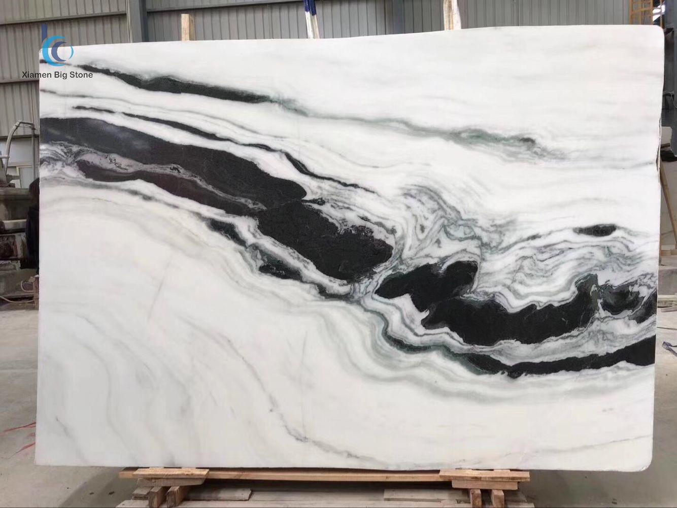 Panda White Marble Big Slab