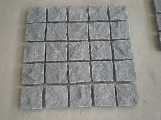 Granite Paving On Mesh