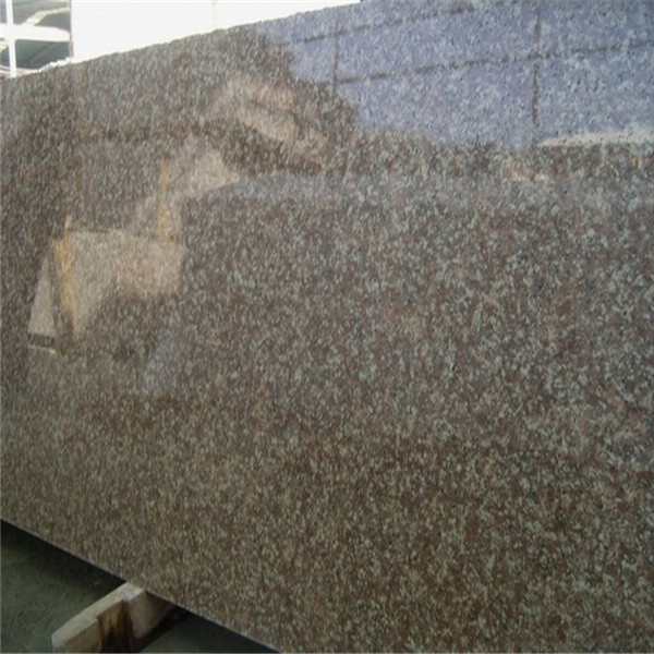 Peach Red Granite Slabs Polished 2cm for wall and floor covering