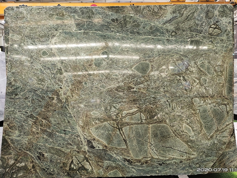 Brazil Peacock Green Marble Slabs Peacock Green Quartzite Slabs