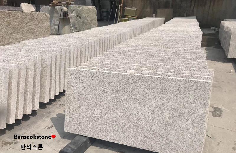 Pearl Grey Granite Tiles