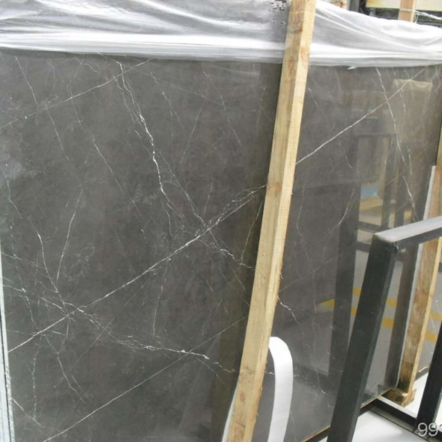 Pietra Grey Marble Polished Stone Slabs
