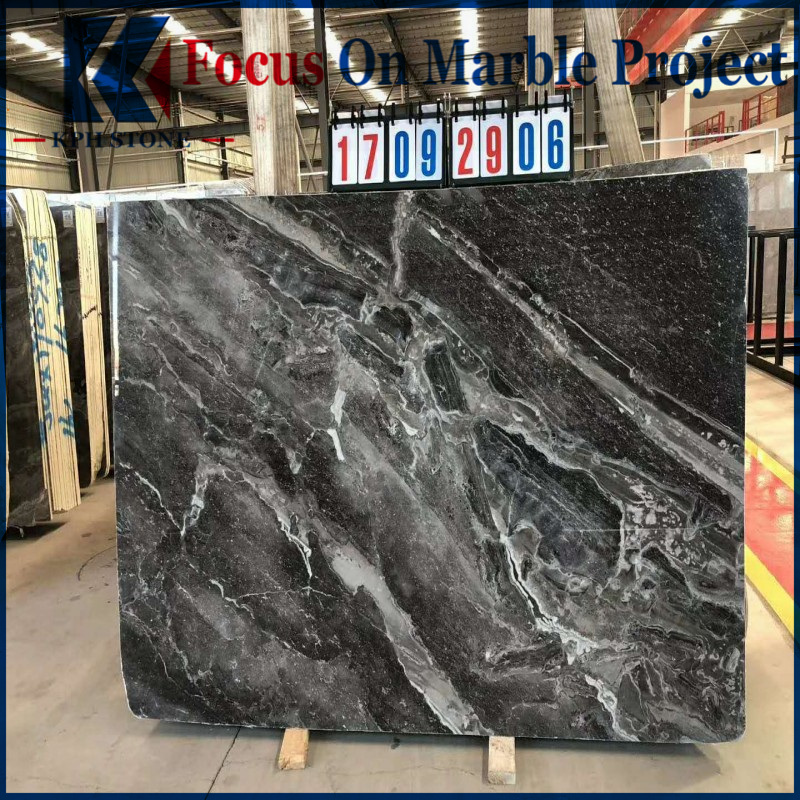 Persian Gray Waves Marble Slabs