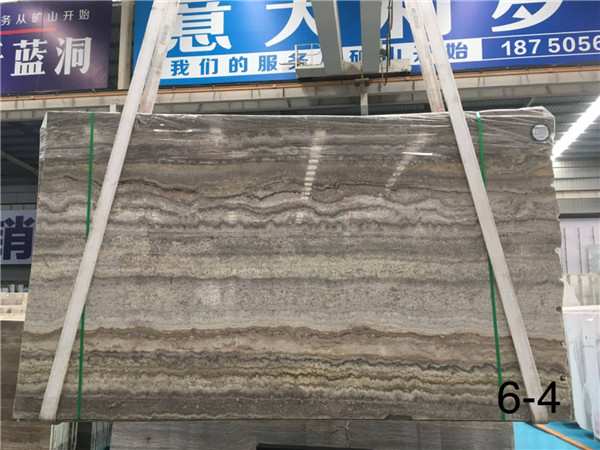 China Stone Market Silver Grey Travertine