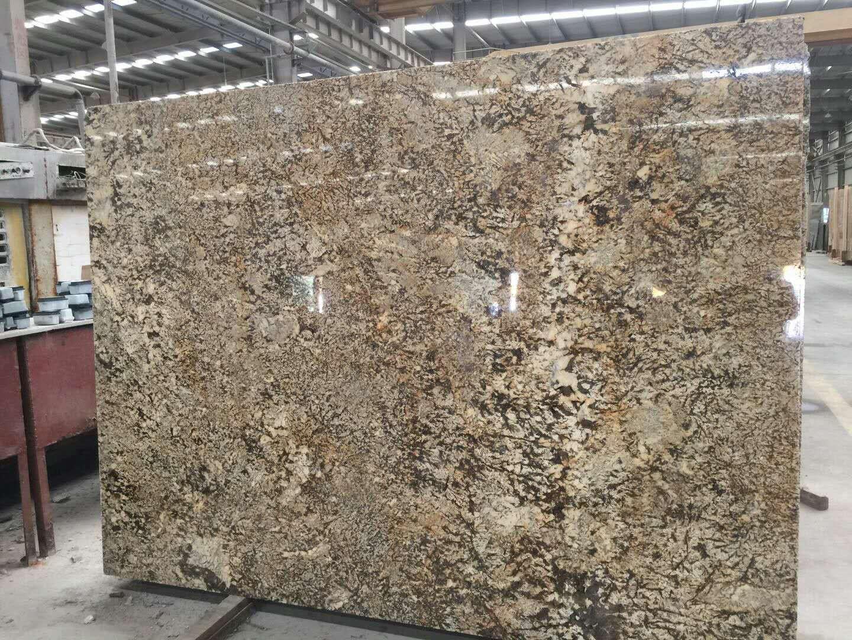 Quarries owner supply  yellow granite blocks