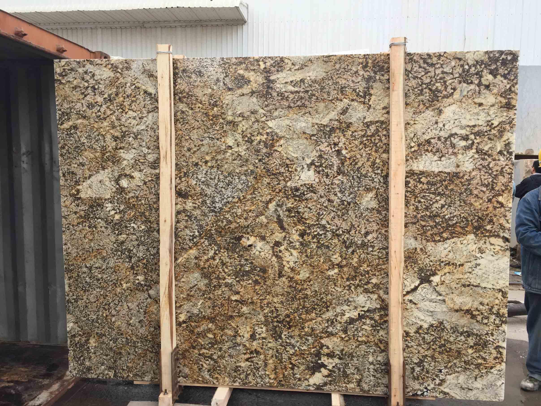 Phantom Golden Flower -11c Granite