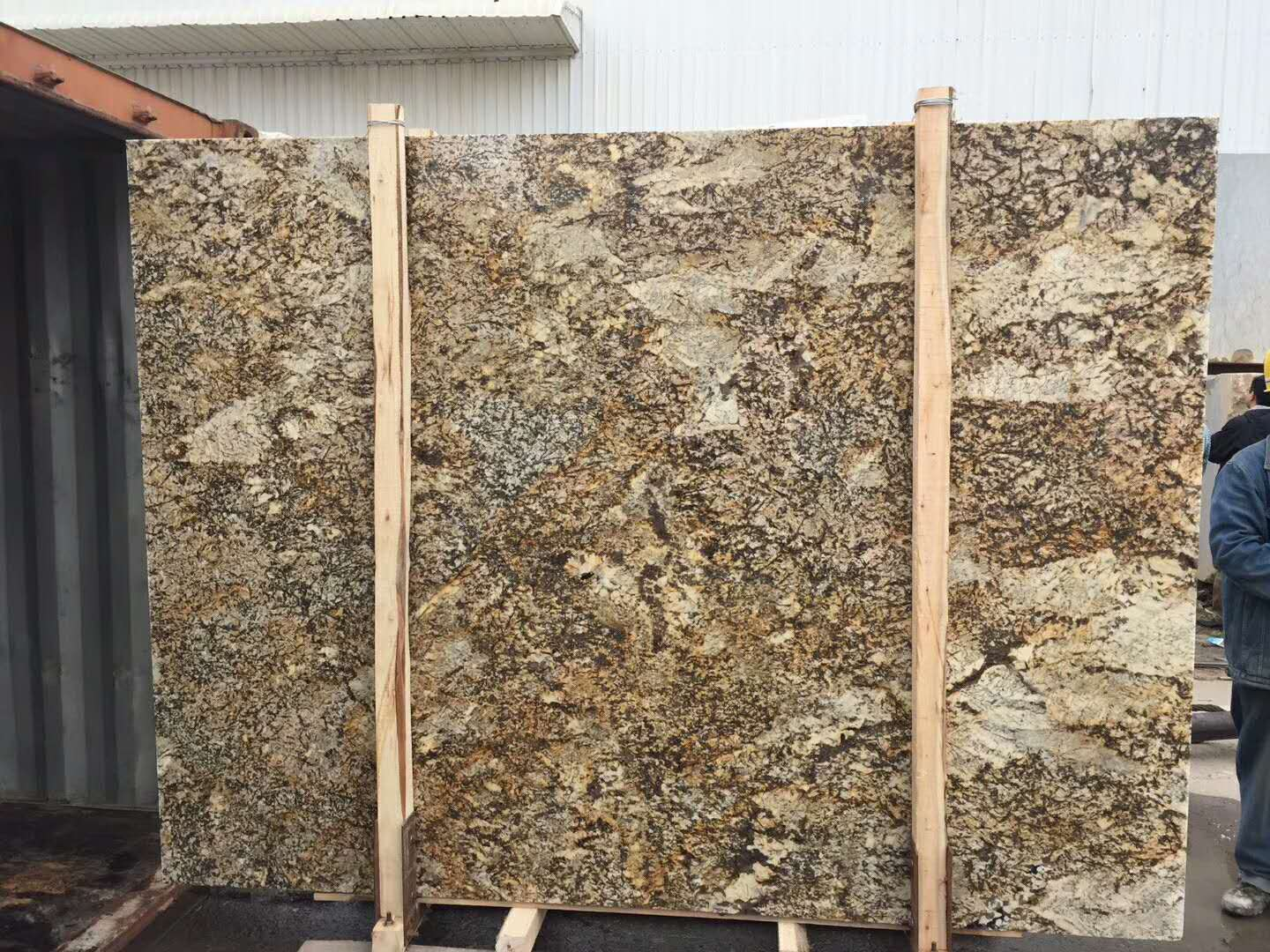Yellow Stone Granite Slabs