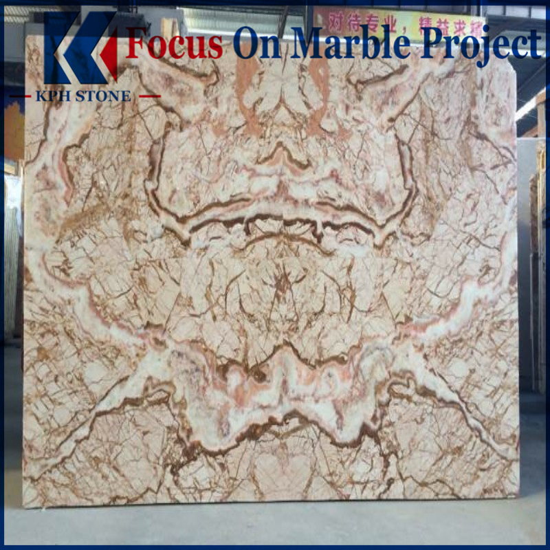 Picasso Gold Marble Slab Price