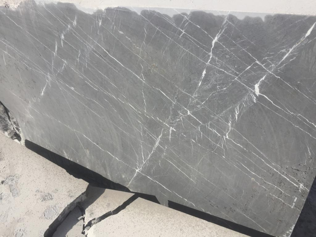 pietra gray marble block