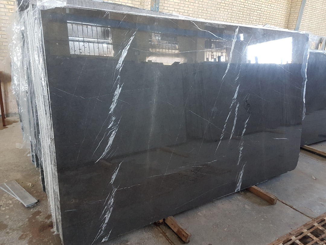Pietra Gray Marble Polished Slabs
