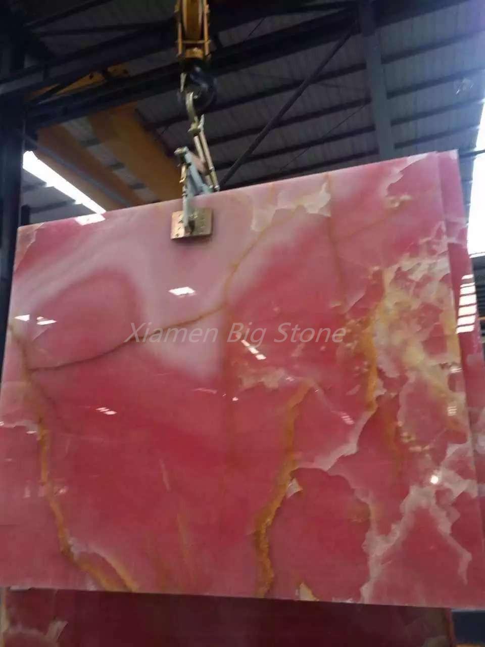 Iran Pink Onyx Slab