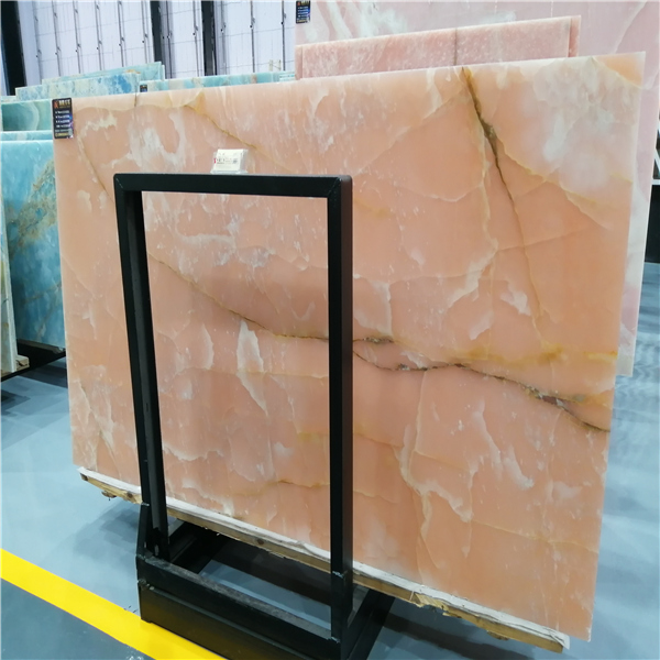 Luxury Pink Onyx For Decoration
