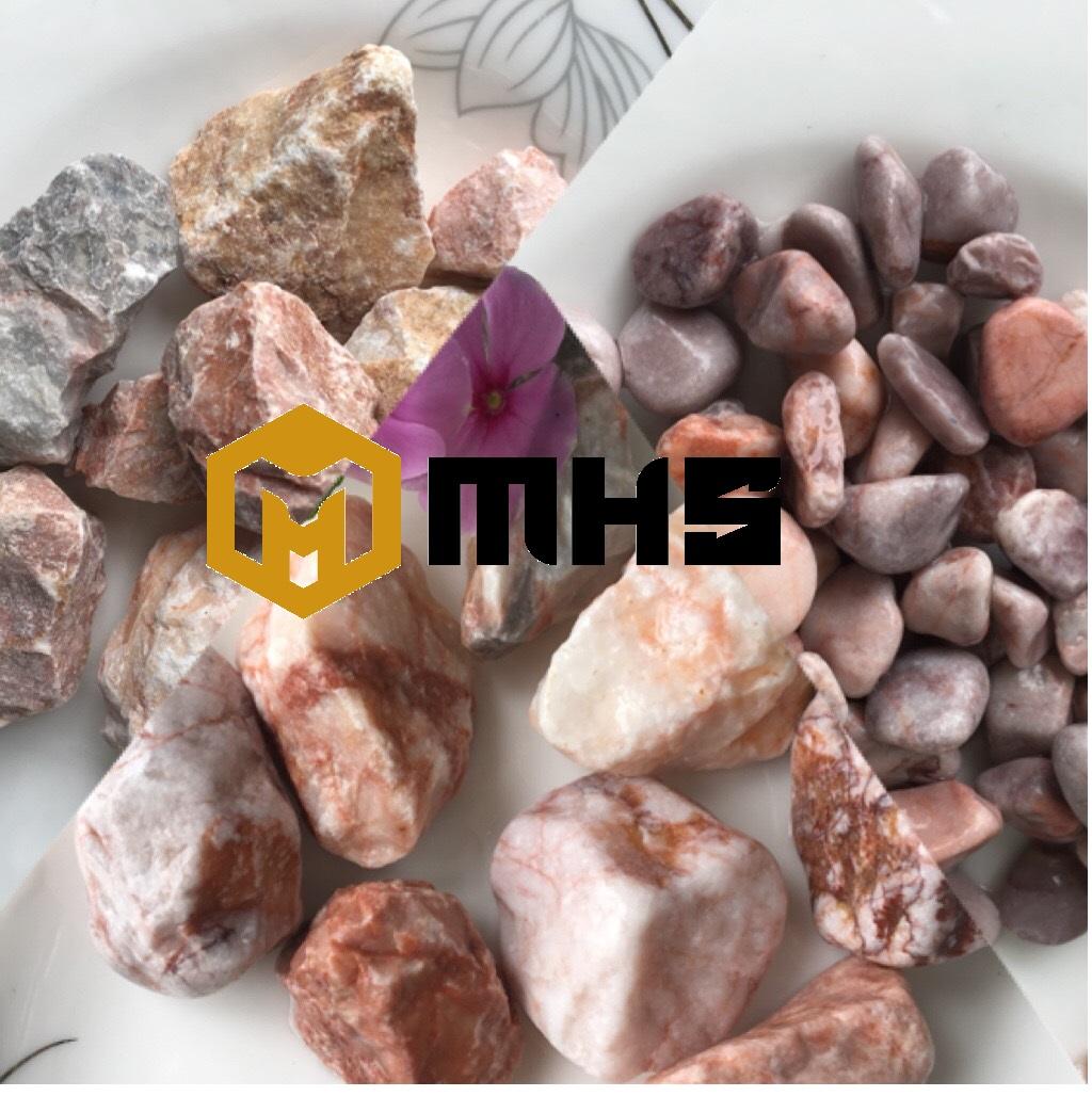 Pink Tumbled Pebble Stone