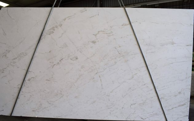 Pirgon White Polished Marble Slabs