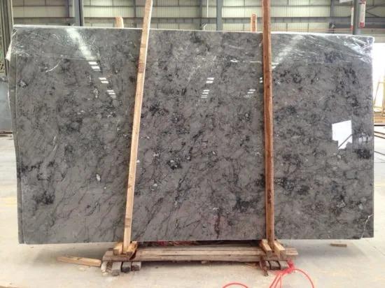 Cloudy Grey Marble Slabs