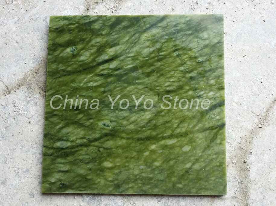 Polished Ming Green Marble
