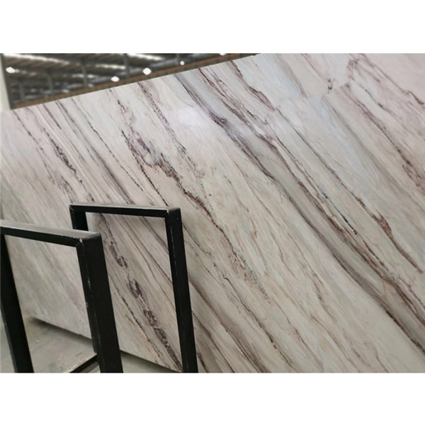 Polished Palissandro White Marble